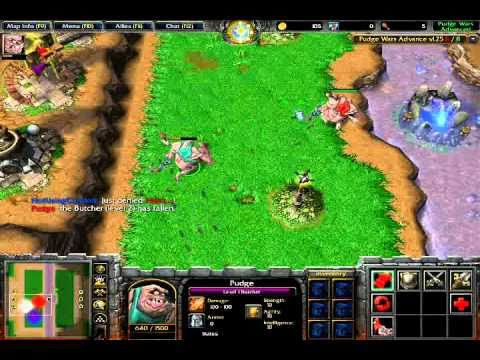Warcraft III-Pudge Wars Gameplay. hp 6910p sound driver. На главную страни