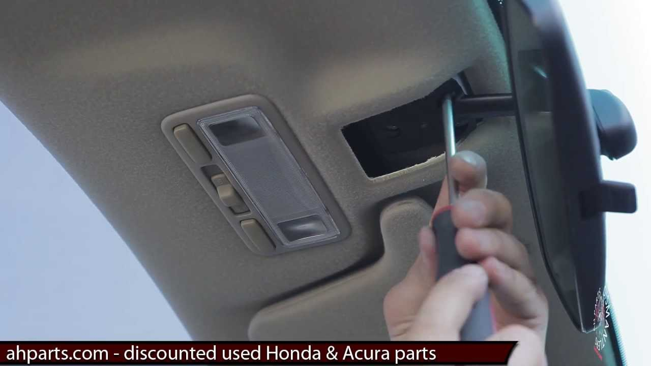 Interior Inside Rear View Mirror Replacement How To Replace Install Change Tutorial Honda Civic