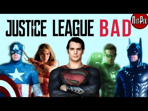 Why Justice League Is The WORST Superhero Film - NitPix