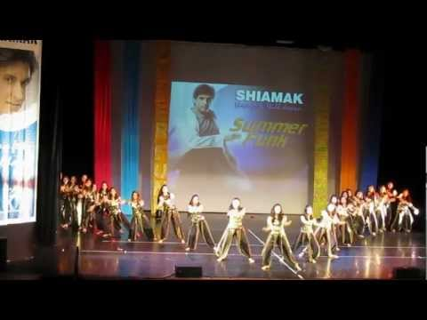shiamak's london summer funk 2011 - chandigarh di star