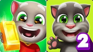 Talking Tom Gold Run New UpDate - My Talking Tom 2 Android Gameplay 2018