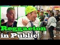 """REGGAETON""   J Balvin   Singing In Public!!"