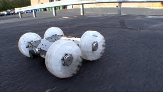 Thumbnail of Sand Flea Jumping Robot