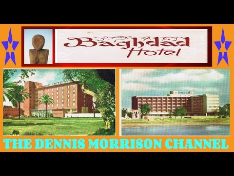 THE BAGHDAD HOTEL: A FASCINATING 1950'S ERA TRAVEL BROCHURE