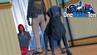 SA'F #250 - FIRE DOG Helps Protects Victim! | GTA V RP