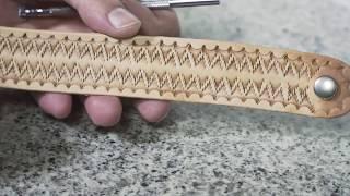 Leather Resisting Technique