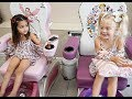 BESTIE NAIL SALON DATE!! (SO CUTE!)