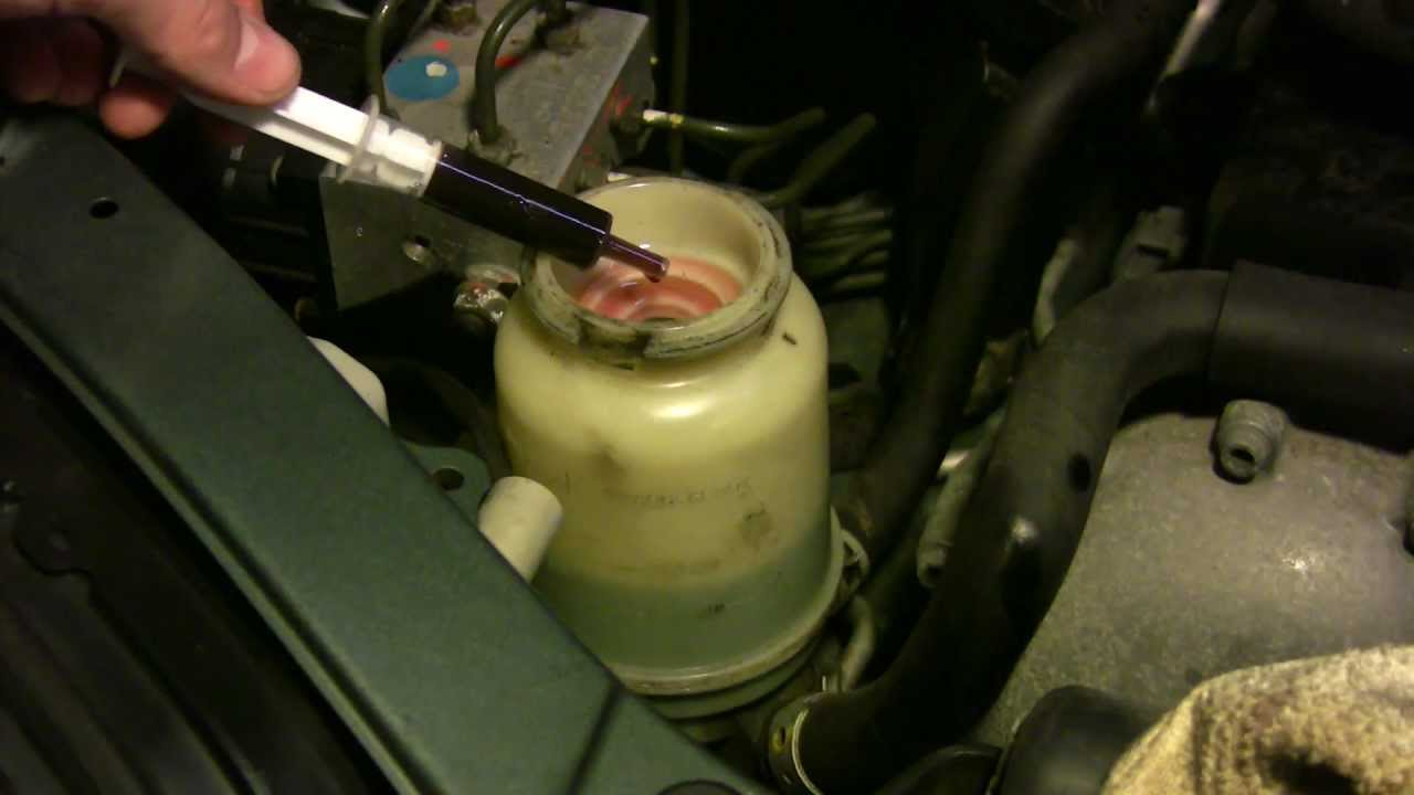Cheap Diy Power Steering Fluid Flush And Change For Any