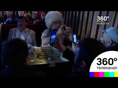 В Махачкале празднуют победу Хабиба Нурмагомедова над Конором Макгрегором