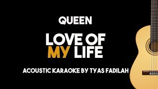 Queen - Love Of My Life (Acoustic Guitar Karaoke Version)