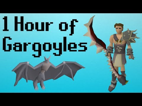 [OSRS] 1 Hour of Gargoyles on a Maxed Account