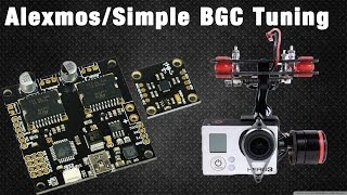 [BUILD] QAV540G Brushless Gimbal Quadcopter PART II: Alexmos Controller Tuning