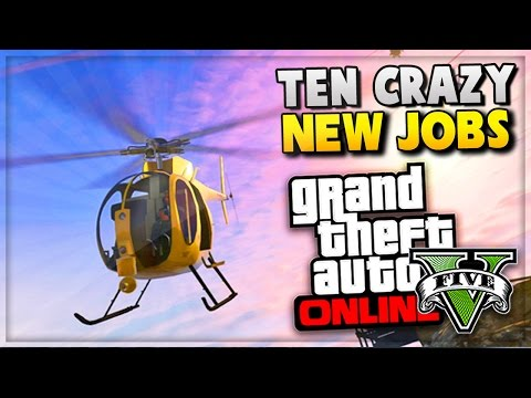 GTA 5 Online - NEW Missions/Jobs Rockstar Verified GTA Online Games! (Grand Theft Auto V)