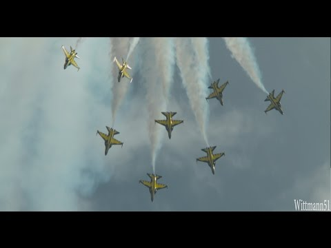 Singapore Airshow 2016 - Black Eagles Republic of Korea Air Force