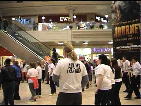 Gateshead No Smoking Day 2012 flashmob