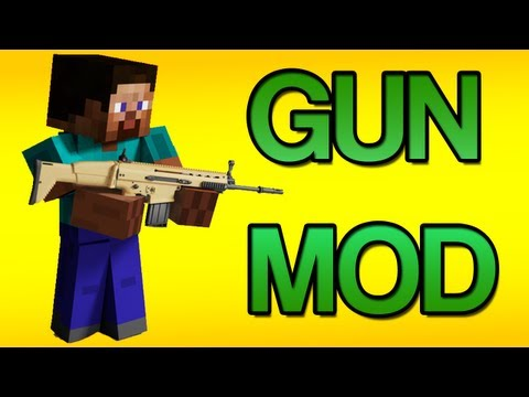 Minecraft New Gun Mod - Mod Spotlight (1.6.2)