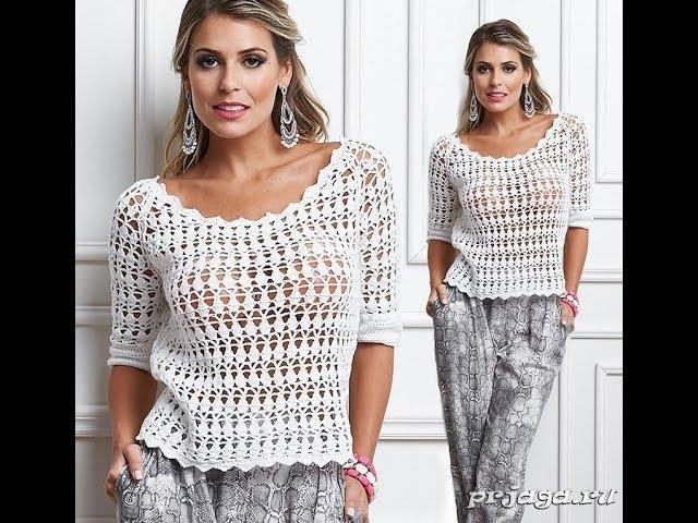 Вязание Крючком Кофточки для Женщин - модели 2019 / Crochet Crochet for Women/ Häkelnadel für Frauen