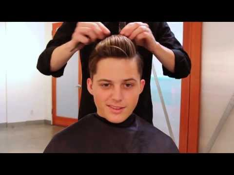 Men's Haircut Tutorial | 1920s Inspired Haircut & 3-in-1 Hairstyle Out (Full Length)