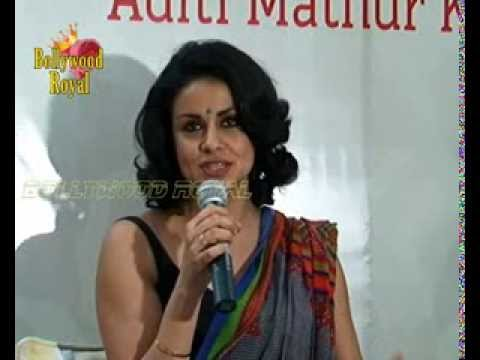 Gul Panag At Aditi Mathur's Book Launch 'soldier & Spice' video