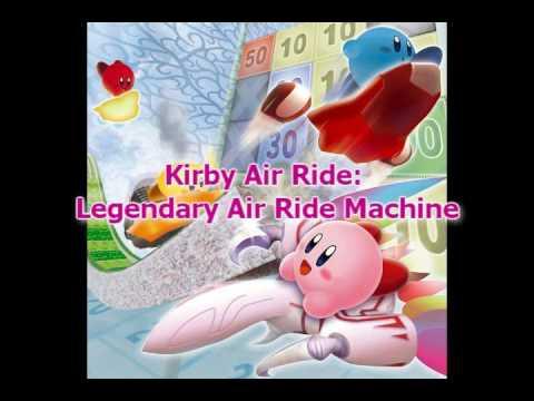 kirby air ride legendary machine
