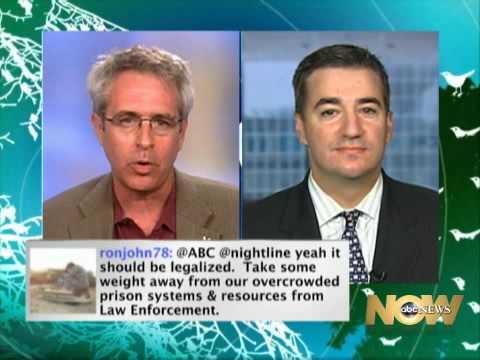 ABC News Nightline: Should Marijuana Be Legalized? 17/05/2010  Part 1 / 4