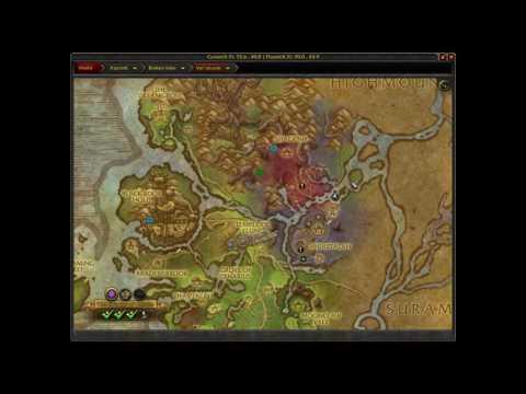 Where is Mistvale WoW Explore Val'Sharah Legion