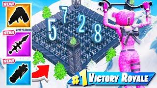 Door Maze RANDOM LOOT *NEW* Creative Minigame in Fortnite Battle Royale