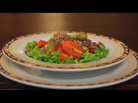 Говядина по-гречески. Рецепт от шеф-повара.