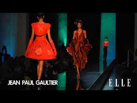 Jean Paul Gaultier. París alta costura primavera 2014
