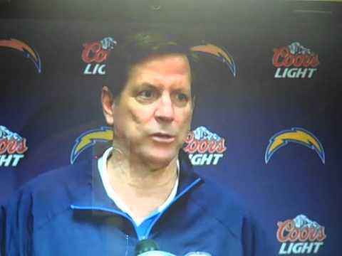 NORV TURNER STARTS TO CRY AFTER RAIDERS BEAT CHARGERS