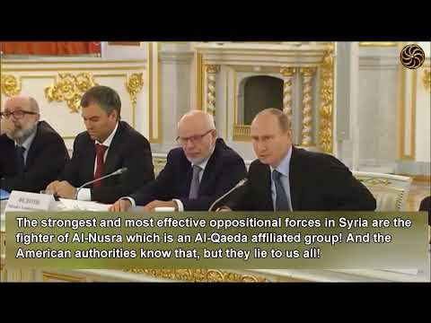 Vladimir Putin The   US Administration is Lying Shamelessly about Syria