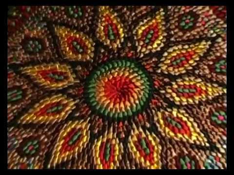 Как и из чего вязать круглые коврики