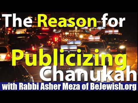 Publicizing Chanukah