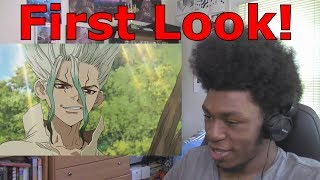Dr. Stone Episode 1 REACTION/REVIEW] First Look!