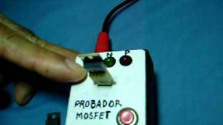 Probador Mosfet canal N y canal P