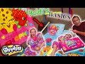 Baldi's Basics in Real Life Slumber Party! Shopkins Lil Secrets Toy Scavenger Hunt!!
