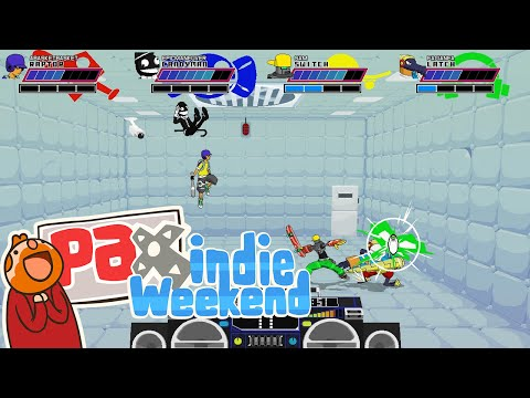 Pax Indie Weekend! - Lethal League: RISE OF CANDYMAN!!!