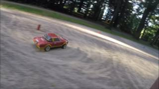 Rally afternoon with RC Fiat 124 Rally Legends - Nanda NRX10