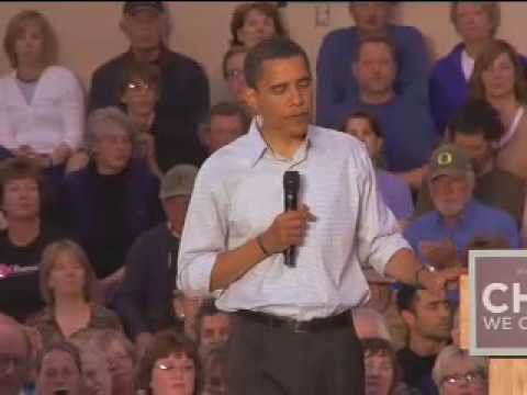 Barack Obama: Town Hall Meeting in Bend, OR