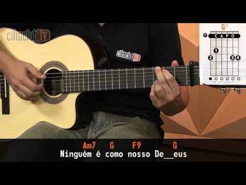 Grandes Coisas - Fernandinho (aula de violão completa)