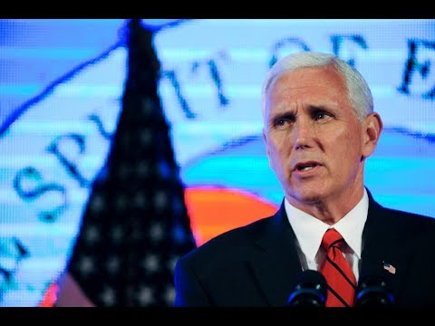 WATCH LIVE Vice President Pence speaks to manufacturing summit