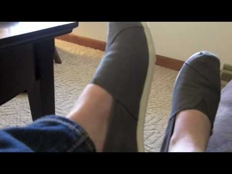 TOMS Shoes Unboxing & Review