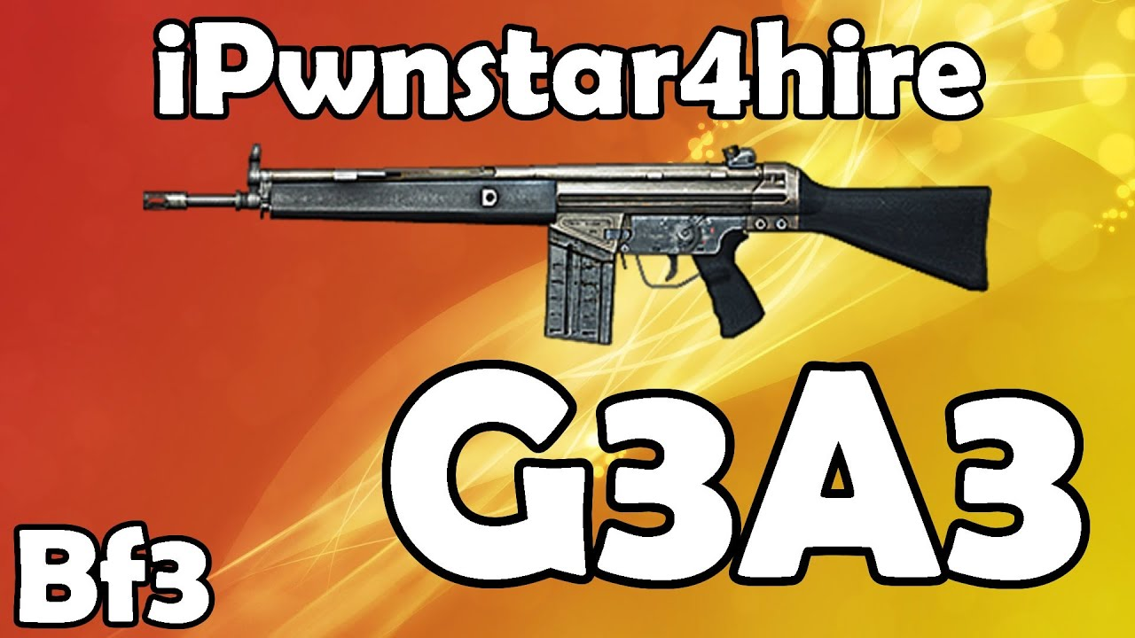 Battlefield 3 - G3A3 Setup and - 204.4KB