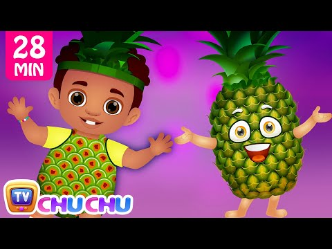 Pineapple Song   Learn Fruits for Kids and More Original Learning Songs & Nursery Rhymes   ChuChu TV