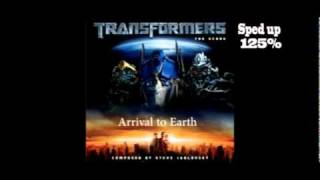 Steve Jablonsky- Arrival to Earth (Sped up 125%)