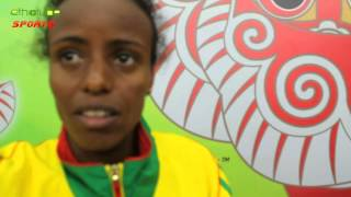 Ethiopia: Beijing 2015 - Interview With Women's Marathon Winner Mare Dibaba | August 29, 2015