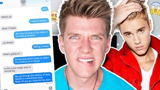 Pranking My CRUSH with Justin Bieber 'Let Me Love You' Song Lyrics | Collins Key