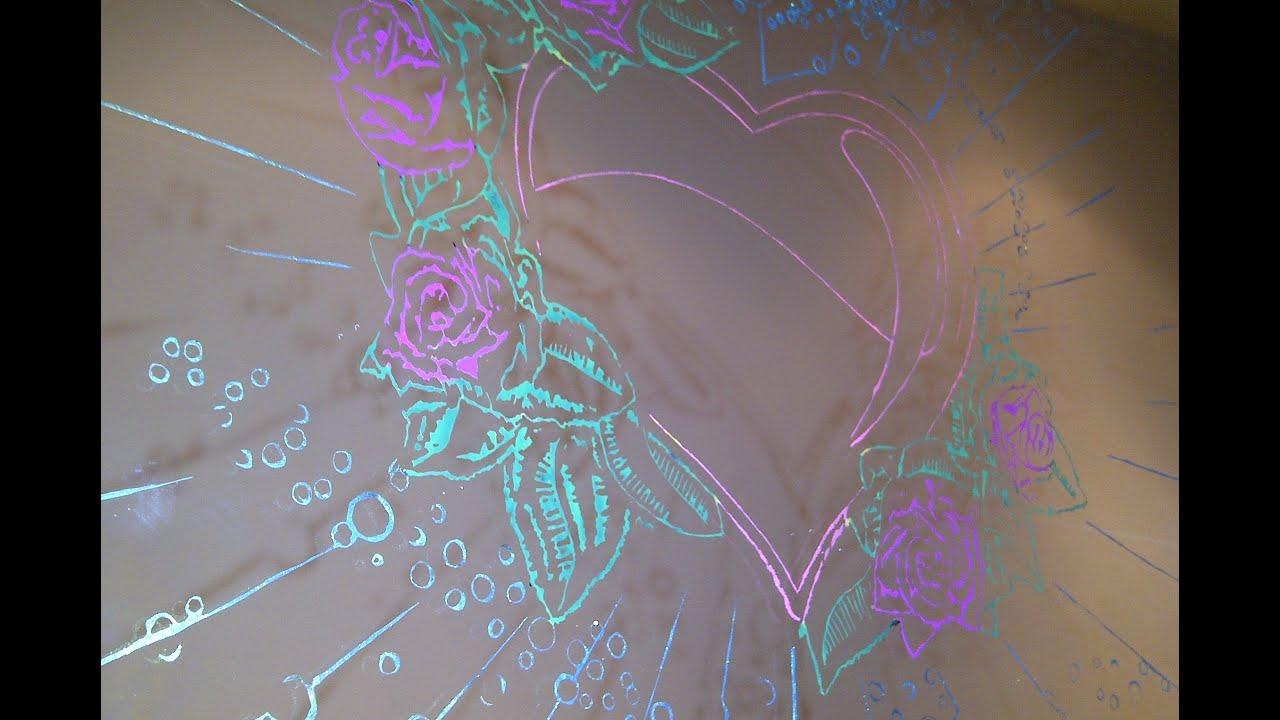 Aql como hacer dibujos en espejo youtube - Dibujos para espejos ...
