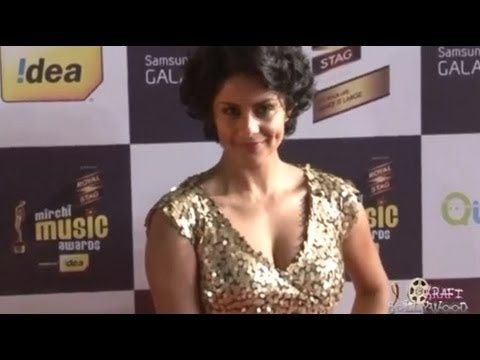 Gul Panag Hot Pointed Dimples video