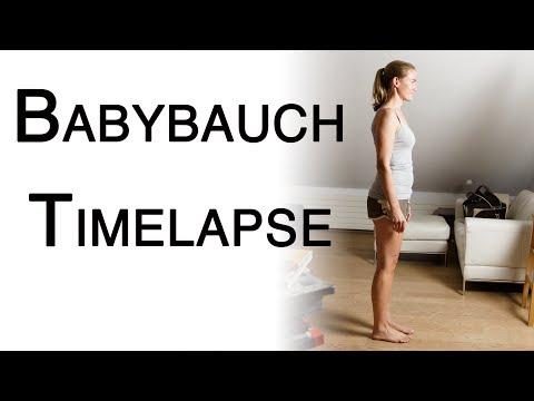 Babybauch Schwangerschaft Timelapse Anleitung